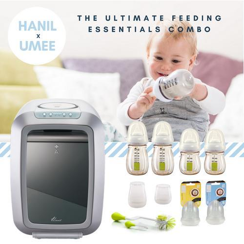 HANIL + UMEE : supreme feeding essentials combo [FREE Little Turtle Baby Hooded Towel Worth $49.90!]