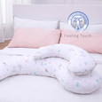 Comfort Series Maternity Pillow - Cooling Touch (Forest)