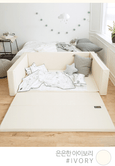 Bumper bed - Twin Star Ivory, L size