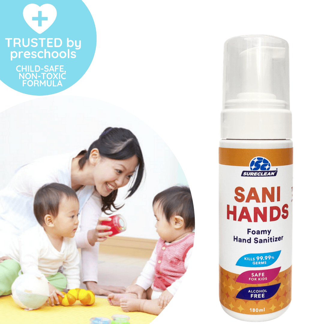 Bespoke Collection - Child-friendly Foamy Hand Sanitizer 180ml