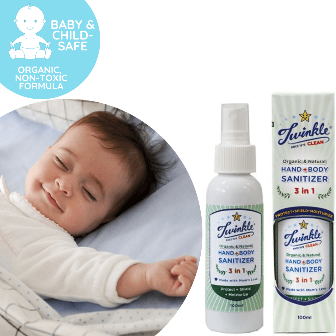 3-in-1 Hand + Body Sanitizer 100ml, Baby & Child-friendly