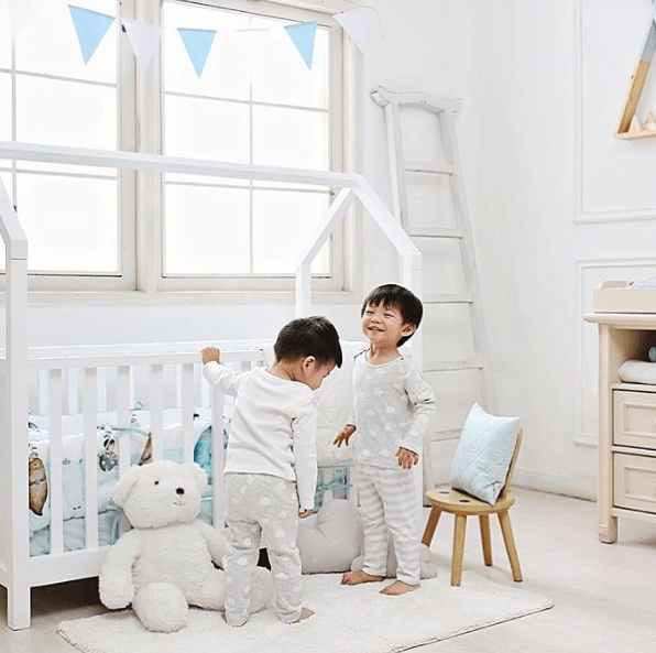 Complete Nursery Bedding Set - CASPIA