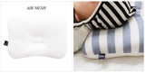 Newborn Pillow + Blanket set - Blue Horizontal Stripes