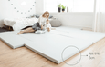 Bumper bed - Twin Star Gray (most luxuriously sized!), Super EL size