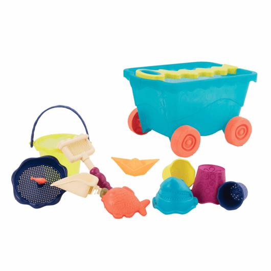 B. Toys - Wavy-Wagon, Travel Beach Wagon (2 Colours)