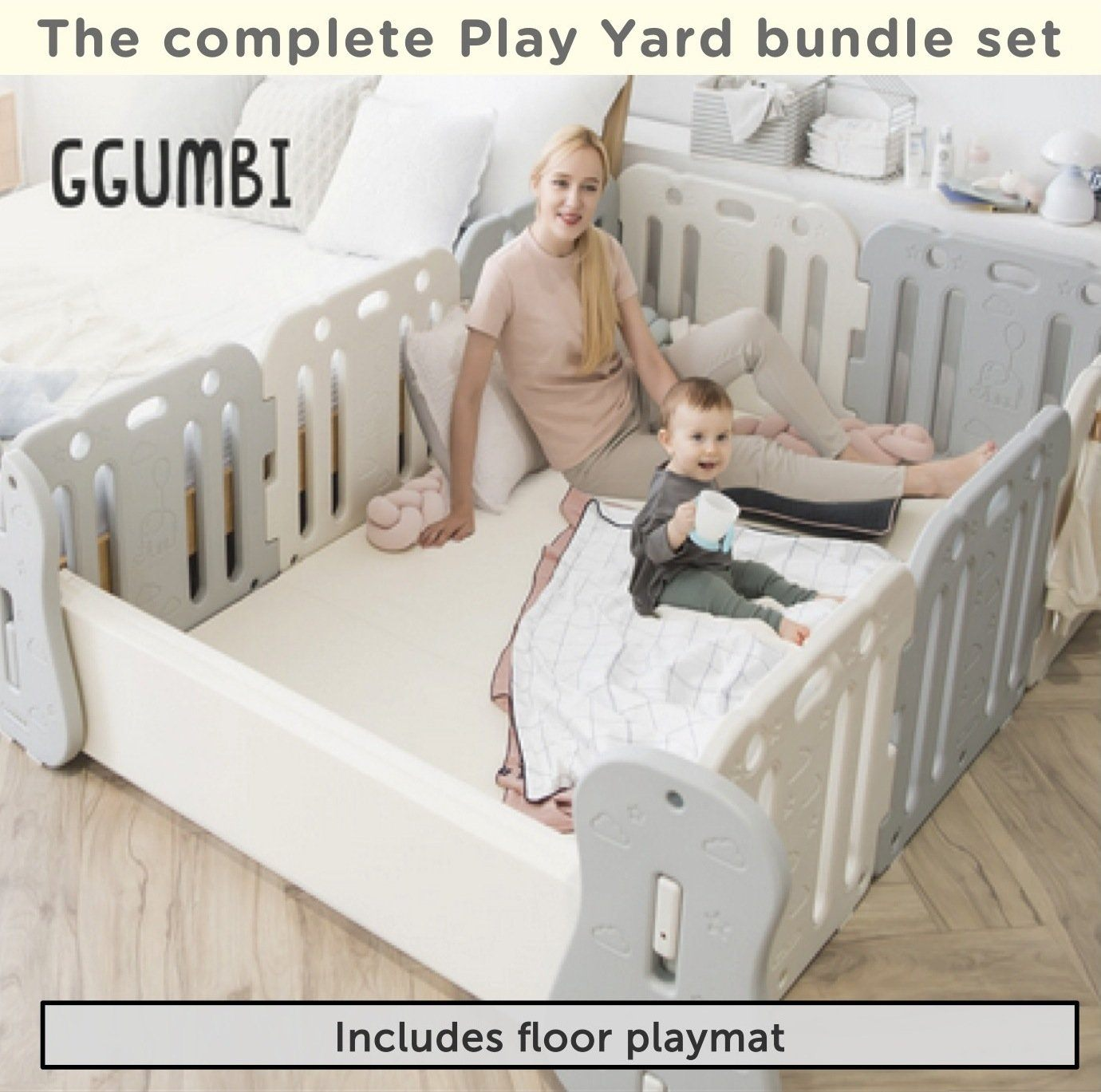 Baby Room Set - Family Guard in Coco Grey + Coco Beige