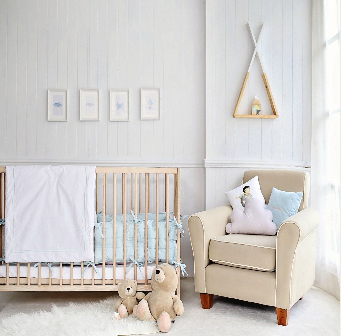 Complete Nursery Bedding Set - LYNDEN