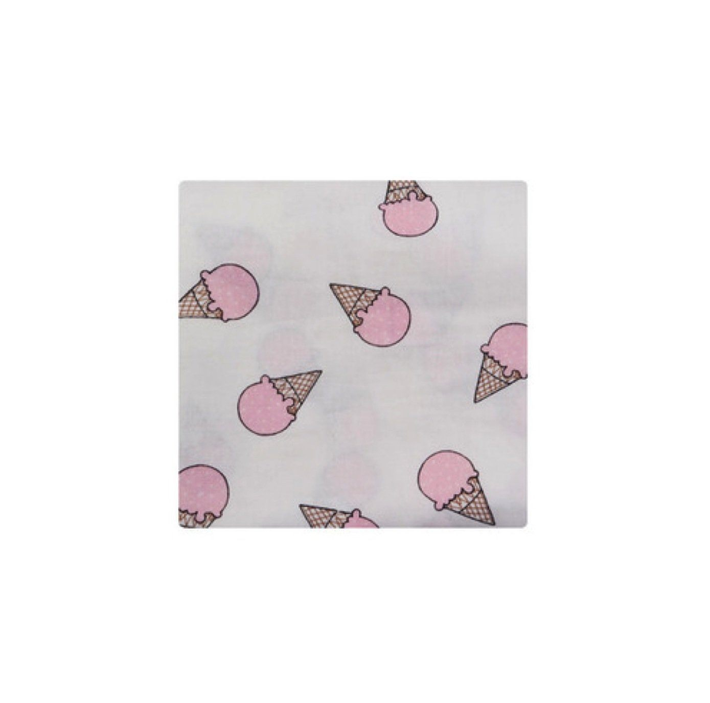 Swaddle Blanket - Ice Cream (Pink)