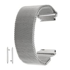 18mm Magnetic Milanese Loop Stainless Steel Magnet Closure Lock Bracelet Strap Band for Huawei Watch   Lead Time: 1~3 Days.
