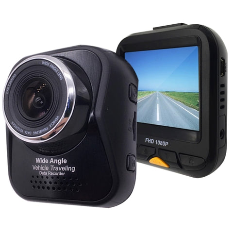 AS331 HD 1080P 1.0MP Camera Vehicle DVR, Sunplus 1626+GC1024, Support Motion Detection / Cyclic Recording / TF Card(Black)   Lead Time: 1~3 Days.
