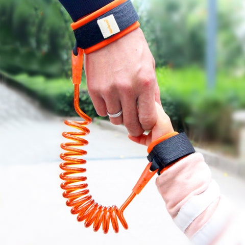 Kids Safety Harness Child Leash Anti Lost Wrist Link Traction Rope Anti Lost Bracelet, Length: 2.5m(Orange)   Same Day Shipping on orders before 6PM (GMT+8).