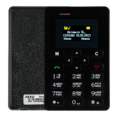 AIEK M5 Card Mobile Phone Network 2G