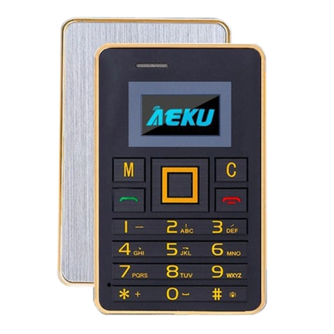 AEKU K5 Card Mobile Phone Network 2G