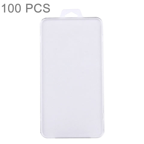 100 PCS Tempered Glass Film Screen Protector Package Packing Crystal Hard Case Shell, Size: 16.5 x 8.7 x 0.5 cm / pcs   Lead Time: 1~3 Days.