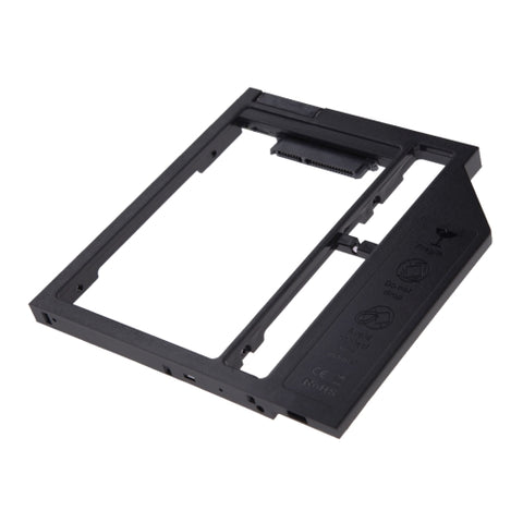 Universal 9 / 9.5mm SATA3 Hard Disk Drive HDD Caddy Adapter Bay Bracket for Notebook(Black)   Lead Time: 1~3 Days.
