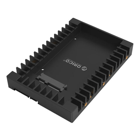 ORICO 1125SS SATA 3.0 Fast Transfer Speed 2.5 to 3.5 inch Hard Drive Caddy  Convertor Enclosure Black