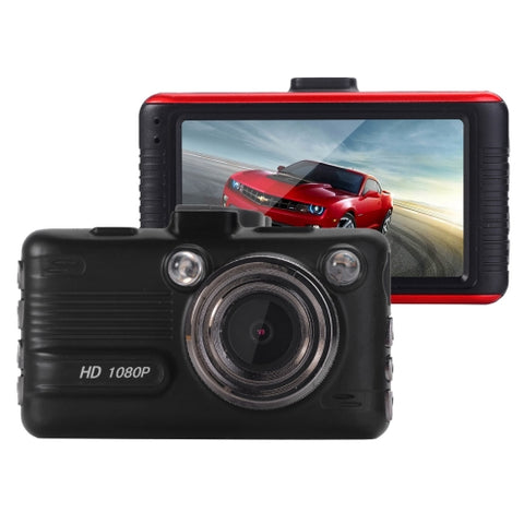 I8S Full HD 1080P Car WiFi DVR Driving Recorder, 3.0 inch Screen Display, 170 Degrees Wide Angle Viewing Lens, Support G-Sensor & File Locking & Parking Guard & Motion Detection Functions, Maximum 32GB TF Card