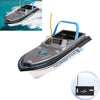 27MHz Radio Remote Control Super Mini High Speed Boat(Baby Blue)