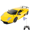 1:14 Digital Proportional Ready to Run and Get Across Barriers Radio Control RC Super Sport Car (Yellow)