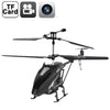 1.3 Mega Pixels Camera 3.5-CH Remote Control Helicopter with Gyroscope (Black)
