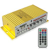 USB / SD / MMC card / DVD / CD / MP3 2 Channel Output Power Amplifier, Digital Player 20W + 20W (MA-180)