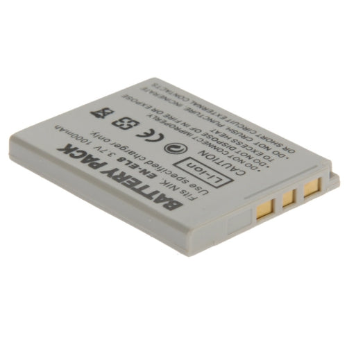 1000mAh Rechargeable Li-ion Battery for Nikon EN-EL8(Grey)