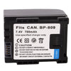 BP809 Battery for Canon HF10 / HF100 / HF11 / HG21 / VIXIA HF10 / VIXIA HF100 / IVIS HF10 / IVIS HF100(Black)