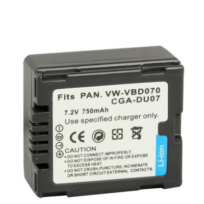 VW-VBD070 / CGA-DU07 Battery for Panasonic Digital Camera