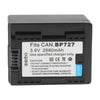 BP-727 Battery for Canon Digital Camera(Black)