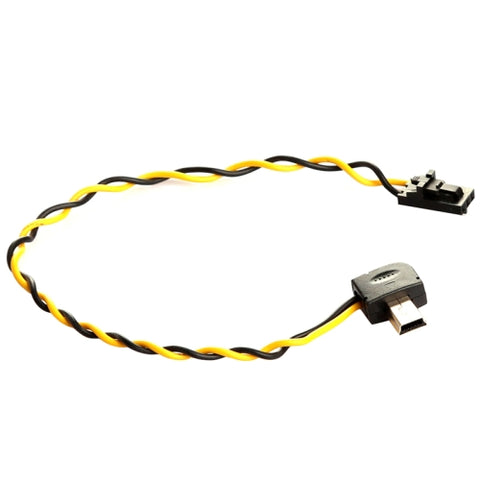 USB 90 Degree Connector to AV Video Output Cable FPV for GoPro Hero 3