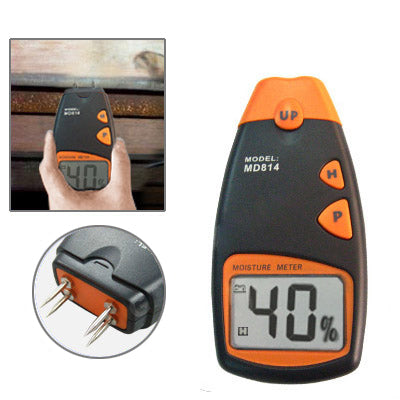 Digital Wood Moisture Meter Tester 4 Pins with LCD