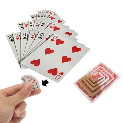 Magic Trick Toy - The Shrunk Playing Cards