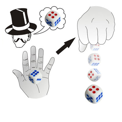 Magic Trick Toy - Automatic Dice Exact Number