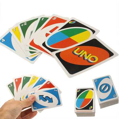 108 UNO Younuo Poker Solitaire, Including 76 number cards, 32 function cards