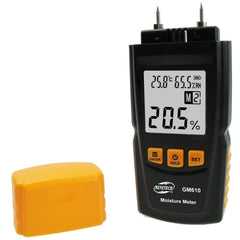 BENETECH GM610 Digital Wood Moisture Meter Black