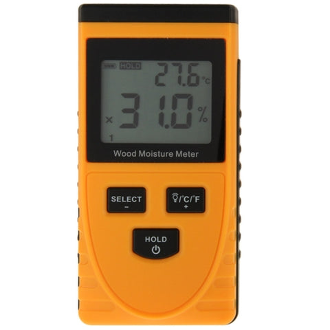 Digital Wood Moisture Meter with LCD(Orange)   Lead Time: 1~3 Days.