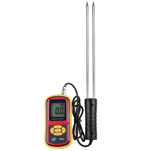 BENETECH GM640 High Quality Digital Grain Moisture Meter with LCD Display