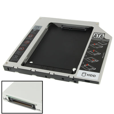 2.5 inch Second SATA to IDE HDD Hard Drive Caddy, Thickness: 10mm   Lead Time: 1~3 Days.
