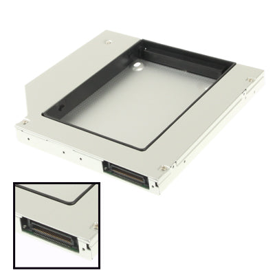 2.5 inch Second General IDE to SATA HDD Hard Drive Caddy ,Thickness: 12.7mm(Silver)   Lead Time: 1~3 Days.