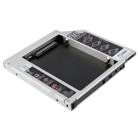 2.5 inch Universal Second HDD Caddy, IDE to SATA HDD Hard Drive Caddy, Thickness: 12.7mm   Lead Time: 2~5 Days.