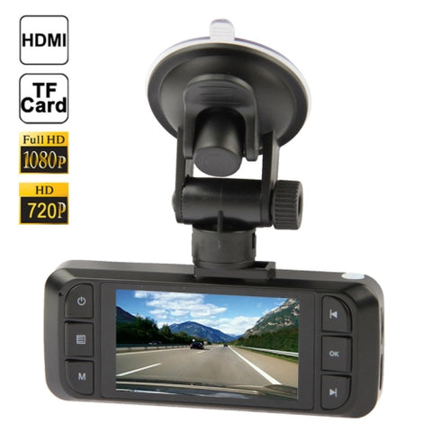 Full HD 720P Vehicle DVR 2.7 inch Screen Display, Support TF Card, Support Loop Recording (AT900)