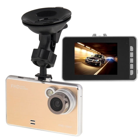 G2000 FHD 1080P 2.4 inch Screen Display Car DVR Recorder, Generalplus G6624 Programs, Support Loop Recording / Motion Detection / Night Vision Function