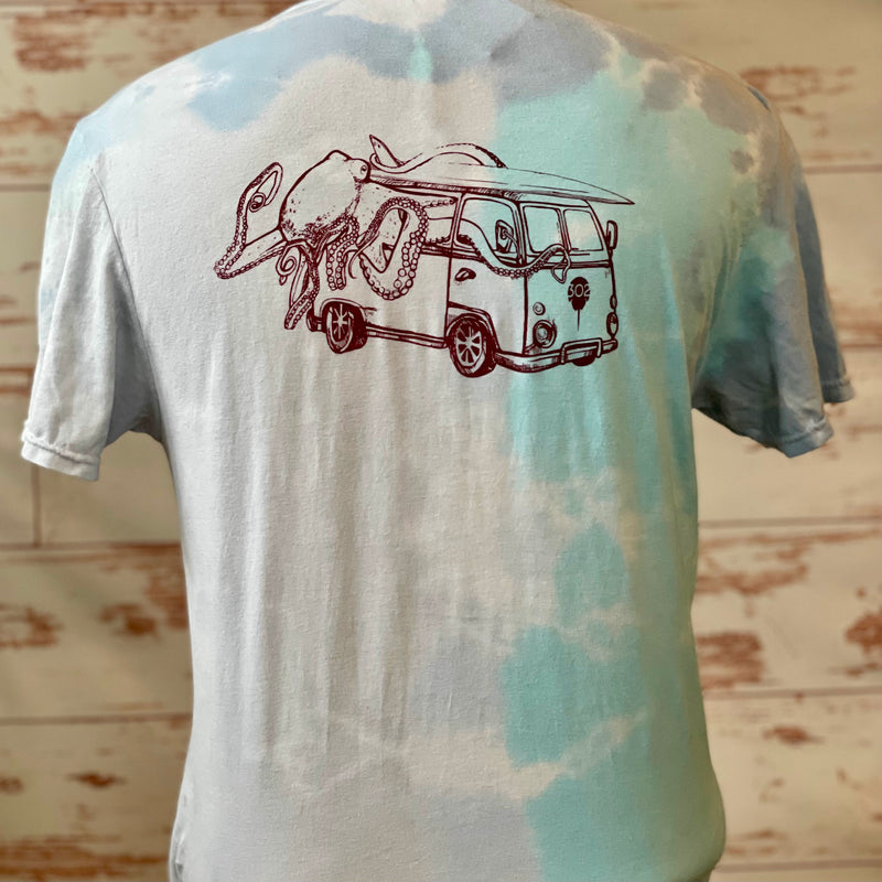 302 Octobus tie dye tee, 2 colors