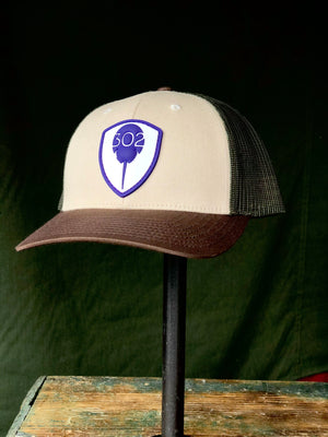 302 PVC patch hat