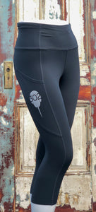 302 Capri Leggings with pocket