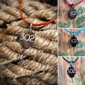 Necklace with 302 Charm