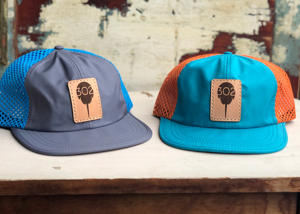 302 Leather Patch Outdoor Performance Hat