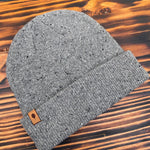 Sueded Tag Beanies