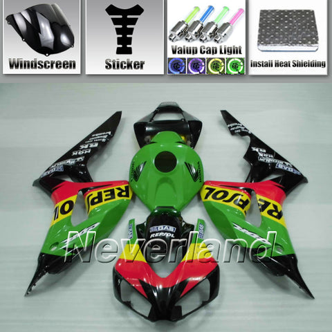 Fairing Fit 2006 2007 Honda CBR1000RR Bodywork Injection Kit ABS Fireblade