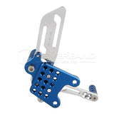 Rearset Rear Footpeg for Suzuki GSXR600/1000 00-04 GSXR750 SV650/S Silver&Blue